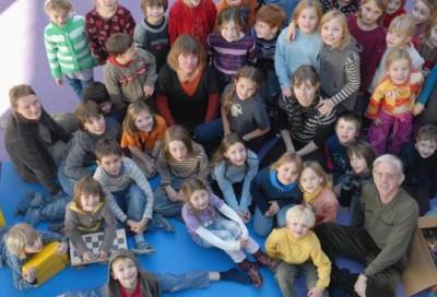 Gruppenfoto Kinder