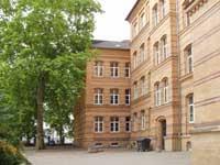 Glauchaschule Eingang