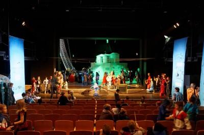 Bühne im Thalia